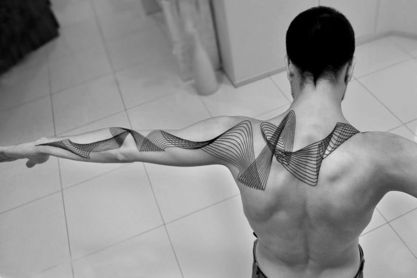 Tatuaje Tattoo cmyk diseño grafico